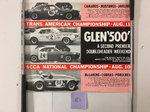 """1968 Watkins Glen """"500"""" Poster"""