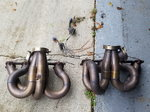 Ford C 460 turbo headers