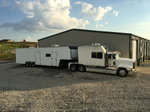 Freightliner toterhome and 44' enclosed trailer