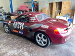 Porsche Boxter Race Car