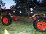 Mega mud truck