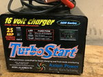 16 volt battery charger