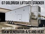 07 Gold Rush 36' Liftgate Stacker
