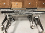 Rolling chassis stands