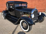 1929 Ford Model A Two Door Coupe Custom