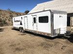 2014 vintage living quarters trailer