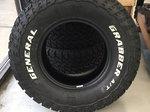New General Grabber ATX 265/75/R16 Truck Tires