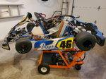 2015 PRAGA Dragon EVO Stock Honda Turnkey Race-Ready Kart