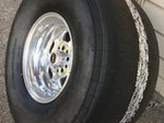 Weld wheels with MT 14x32 NEW drag radials And front wheels