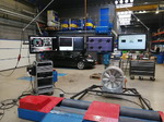 Mustang Dyno electronics with Clayton chassis