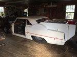 66 Chevy 2 Nova fibeglass body Chrome Molly Chasis