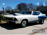 68 chevelle  for sale $11,500