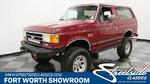 1991 Ford Bronco 4X4 Silver Anniversary