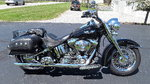 06 Harley Softail Deluxe