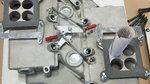 Crossram intake manifold and carburators