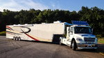 2009 T&E 53' 5th Wheel Trailer And 2012 Freightliner M2