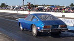 Chevy Monza drag car