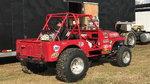 Dirt / Mud Drag Racing Jeep