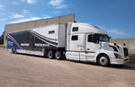 6 Car Liftgate Transporter and Volvo Tractor