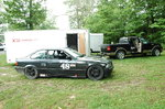 E36 and 20' Hauler