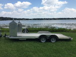 Featherlite 3110 with tire rack  for sale $5,500
