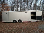 28' Intech Icon aluminum race trailer  for sale $28,900