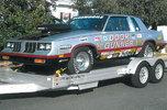1985 Cutlass Drag car + Trailer PACKAGE  for sale $21,000