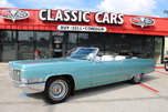 1969 Cadillac DeVille  for sale $33,555