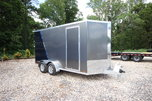 2020 ATC RAVEN 7X14 Ramp Door Motorcycle Trailer