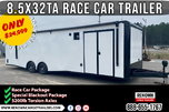 🏎️ Race Car Trailer - IN STOCK NOW | Car Hauler | Race  for Sale $29,899