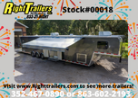2021 8.5'x46' Vintage Goosneck Race Trailer  for sale $54,999