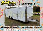 2021 8.5 x 24 Bravo Race Trailer  for sale $24,999
