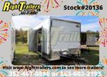 2021 8.5'x34' Cargo Mate Race Trailer