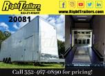 34'- 2021 Cargo Mate Aluminum Stacker