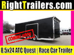 8.5x24 ATC Quest | Race Car Trailer