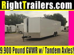 26ft Continental Cargo Race Trailer w/ 9900# GVWR