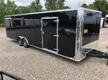 2019 UNITED 28' ENCLOSED RACE TRAILER W/CABINETS