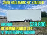 2006 36' Haulmark Stacker  for sale $39,900
