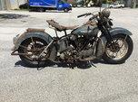 1947 Harley-Davidson FL Knucklehead  for sale $12,000