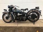 1936 Harley Davidson VLH Police 80  for sale $10,000