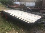 Flatbed trailer  for sale $750