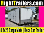 USED: 8.5x28 CargoMate | Race Car Trailer