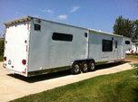 1997 Progressive 44' custom trailer