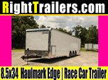 8.5x34 Haulmark Edge | Race Car Trailer