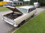 1966 FORD  Fairlane Station Wagon STREET STRIP  for sale $4,000