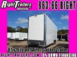 8.5x26 Team Spirit   Stacker Trailer - Nov Completion