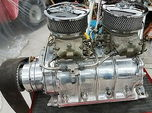 671 supercharger blower BBC complete W/Holley carbs mooneyha  for sale $2,800