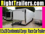 8.5x28 Continental Cargo   Race Car Trailer  for sale $13,999