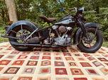 1946 Harley-Davidson FL Knuckle Knucklehead  for sale $39,800