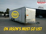 "'Used"" 2019 ATC 8.5X24 Car/Race Trailer #7360  for sale $24,900"
